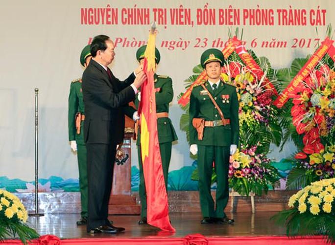 Mong Bộ đội Biên phòng lập nhiều chiến công mới - Ảnh 1.