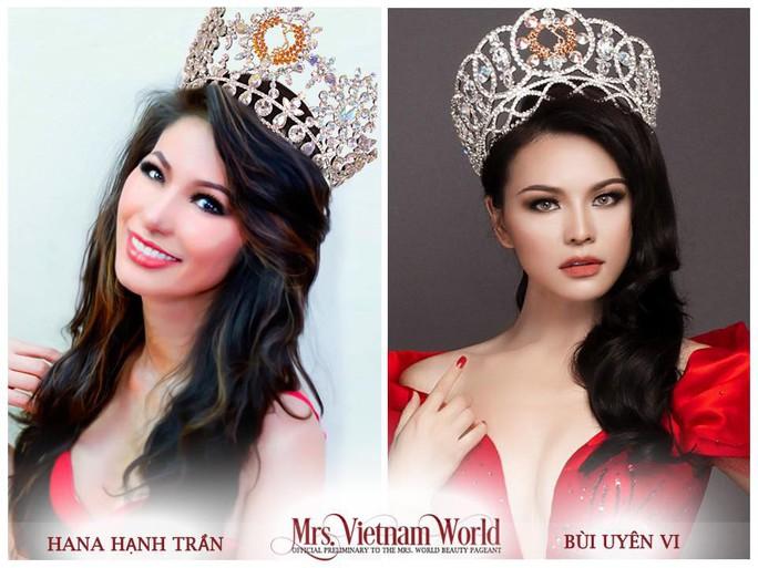Trần tình việc tước vương miện Mrs. Vietnam World - Ảnh 4.