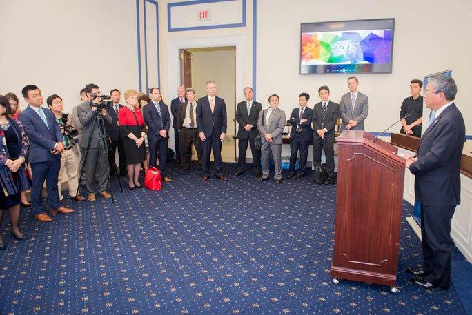 Ra mắt nhóm nghị sĩ ủng hộ APEC tại hạ viện Mỹ - Ảnh 1.
