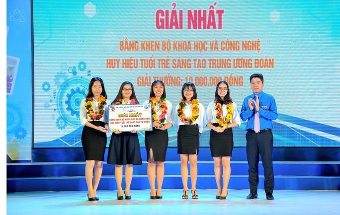 Sinh viên TP HCM đoạt nhiều giải nhất Euréka - Ảnh 1.