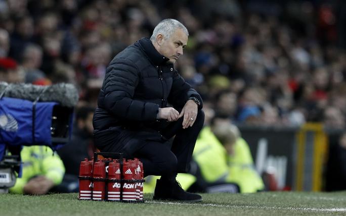 Sự thất vọng của Mourinho khi chứng kiến học trò phung phí quá nhiều cơ hội ghi bàn