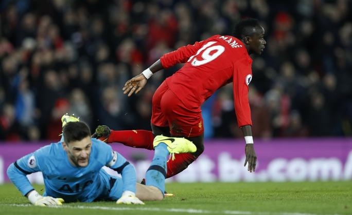 Sadio Mane đã chơi một trận bùng nổ trước Tottenham