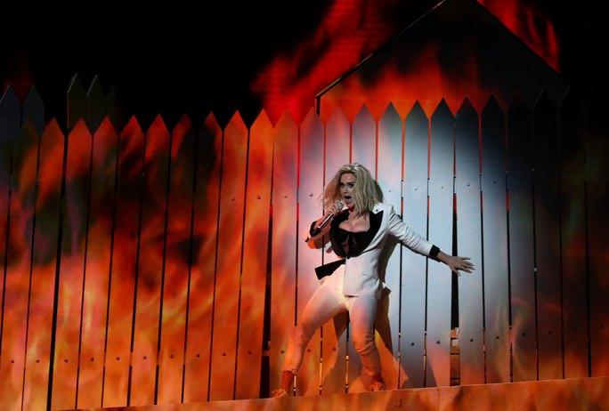 Katy Perry có phần hát tuyệt vời