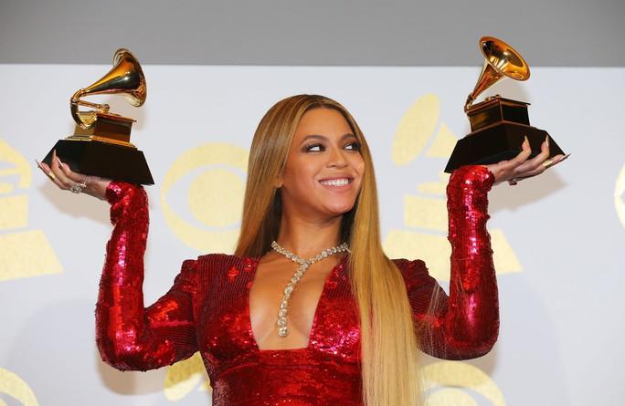 Beyonce thắng 2 hạng mục trong 9 đề cử