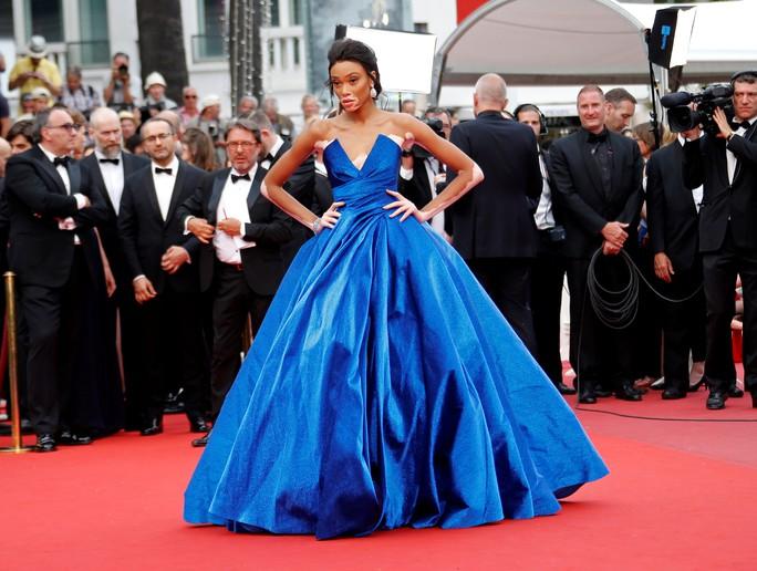 Người mẫu bạch biến tự tin khoe dáng tại Cannes 70 - Ảnh 2.