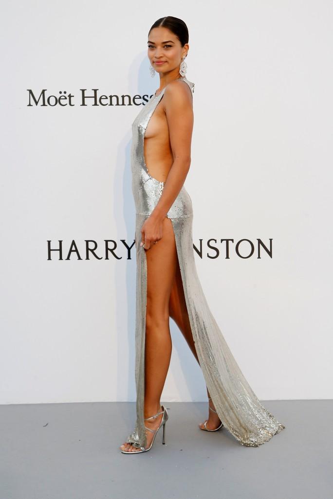 Siêu mẫu Bella Hadid mặc như không trên thảm đỏ - Ảnh 10.