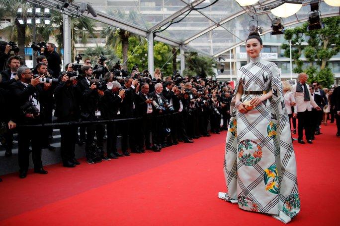Phạm Băng Băng diện đầm xuyên thấu dự bế mạc LHP Cannes - Ảnh 5.