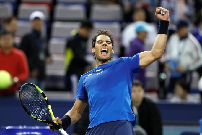 Clip: Federer, Nadal tiến sát chung kết Thượng Hải Masters - Ảnh 8.