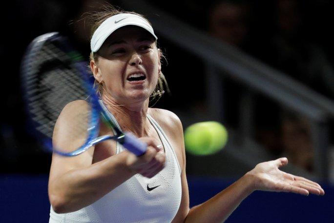 Địa chấn tại Kremlin Cup: Sharapova bị loại sớm - Ảnh 3.