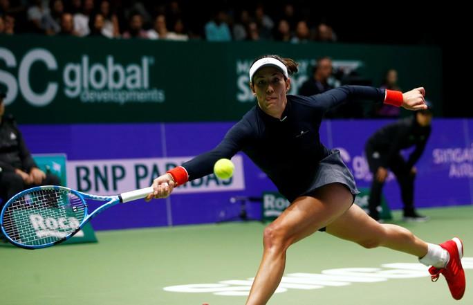 Muguruza xinh đẹp ghi điểm tại WTA Finals - Ảnh 6.