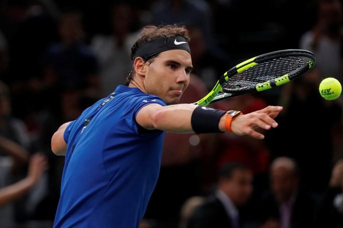 Nadal vào tứ kết Paris Masters 2017 - Ảnh 3.