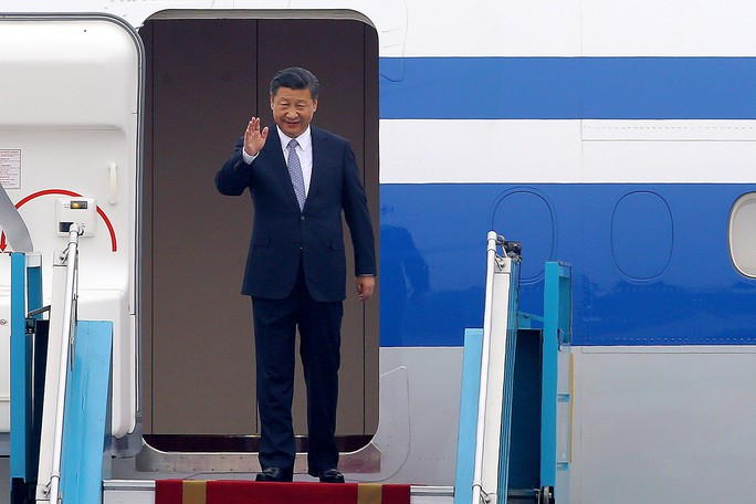 Tổng Bí thư, Chủ tịch Tập Cận Bình bắt đầu thăm chính thức Việt Nam - Ảnh 1.