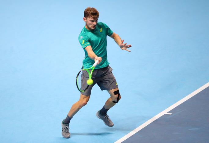 Tiếp bước Federer, Dimitrov giành vé vào bán kết - Ảnh 3.