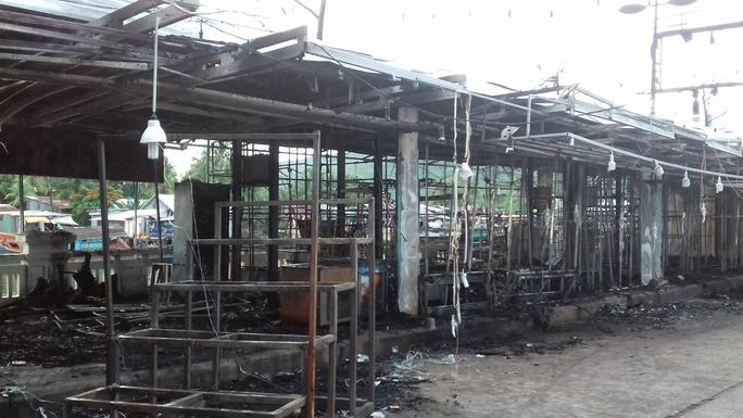 Thông tin mới nhất vụ cháy chợ đêm Phú Quốc - Ảnh 2.