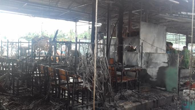 Thông tin mới nhất vụ cháy chợ đêm Phú Quốc - Ảnh 1.