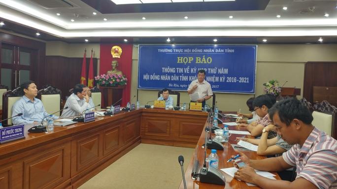 Bà Rịa-Vũng Tàu: Kỳ họp HĐND không phát tài liệu giấy - Ảnh 1.