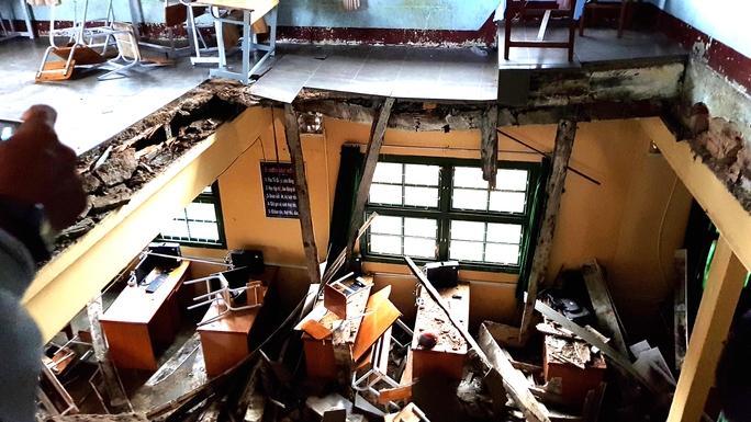 Vụ sập phòng học: Kiểm tra tất cả các trường ở Đà Lạt - Ảnh 2.