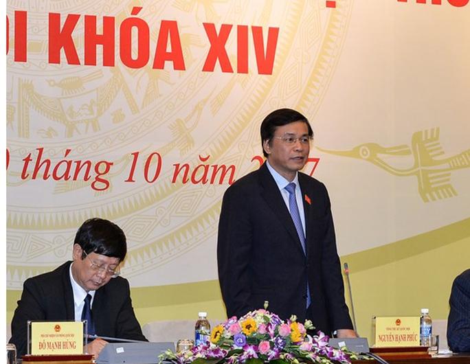 Ngày 27-10, sẽ công bố tân Bộ trưởng Giao thông vận tải và Tổng TTCP - Ảnh 1.
