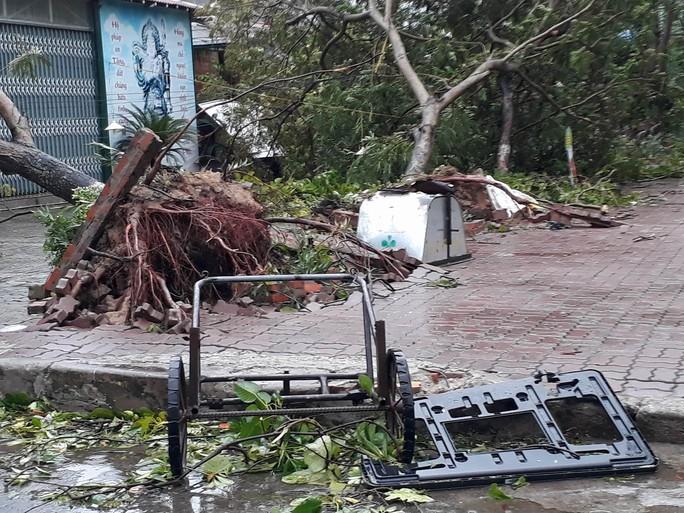 Bão số 2 vào đất liền: Cây đổ, mất điện, nhà tốc mái - Ảnh 17.