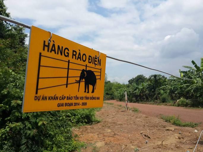 Cảnh báo nguy hiểm ở hàng rào điện ngăn voi - Ảnh 2.