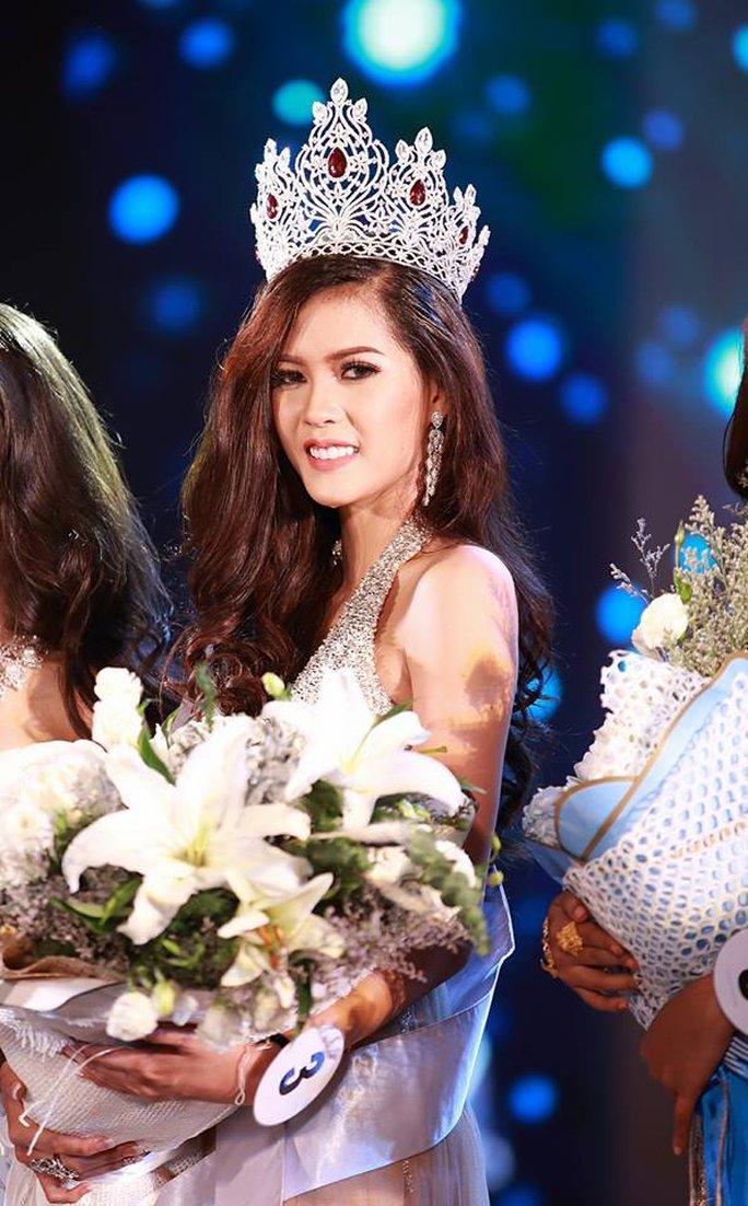Cận cảnh nhan sắc Hoa hậu Hoàn vũ đầu tiên của Lào - Ảnh 3.