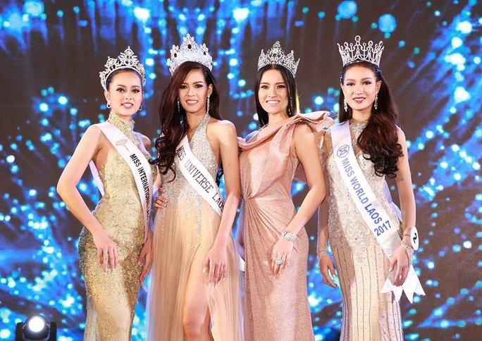 Cận cảnh nhan sắc Hoa hậu Hoàn vũ đầu tiên của Lào - Ảnh 6.