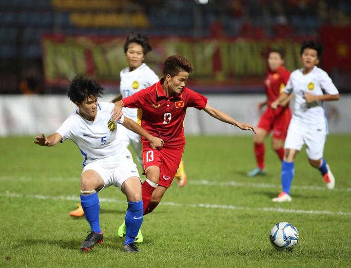 Thắng Malaysia 6-0, bóng đá nữ Việt Nam đoạt HCV - Ảnh 7.