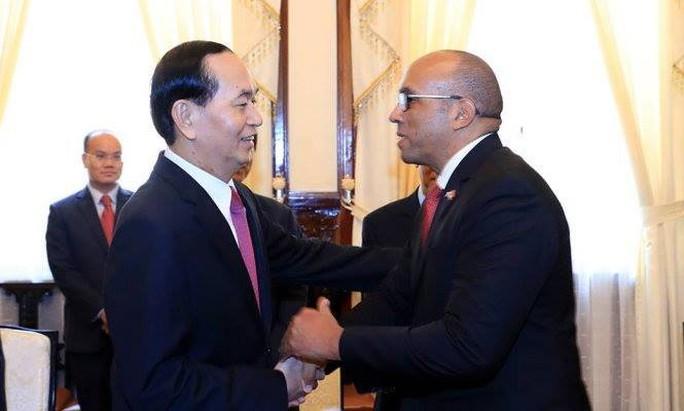 Chủ tịch nước Trần Đại Quang tiếp Đại sứ Cuba - Ảnh 2.