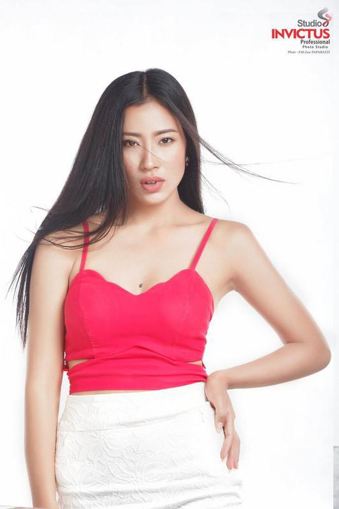 Cận cảnh nhan sắc tân Hoa hậu Hoàn vũ Myanmar - Ảnh 9.