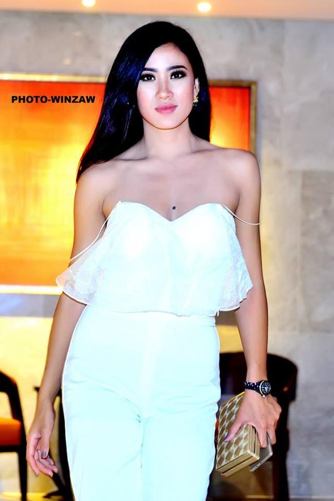 Cận cảnh nhan sắc tân Hoa hậu Hoàn vũ Myanmar - Ảnh 6.