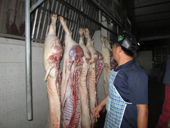 Giá thịt tăng đột biến sau vụ hơn 4.000 con heo nghi bị tiêm thuốc - Ảnh 1.