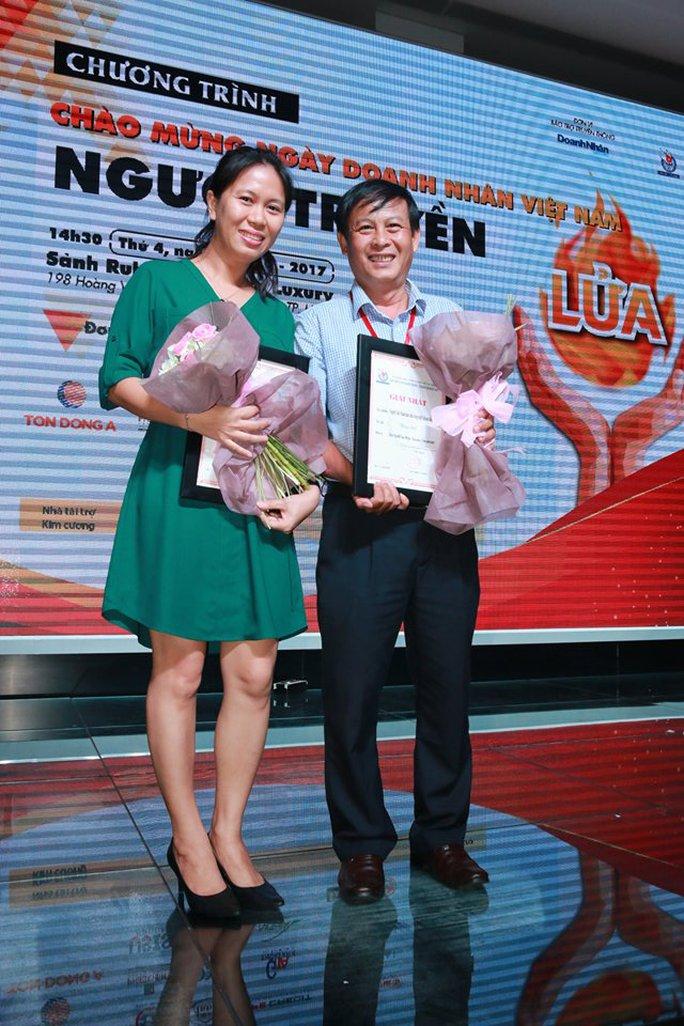 Báo Người Lao Động đoạt 2 giải cao nhất viết về doanh nhân, doanh nghiệp - Ảnh 3.