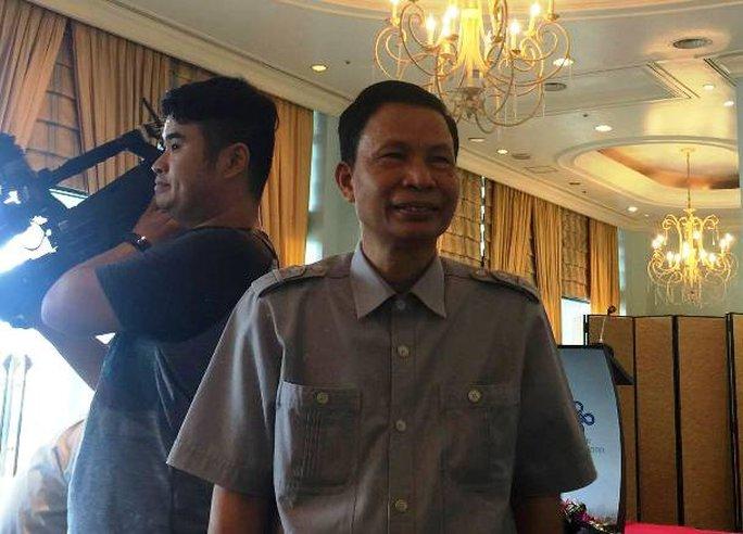 Ông Nguyễn Minh Mẫn từ chối trả lời nhiều câu hỏi trong họp báo - Ảnh 4.