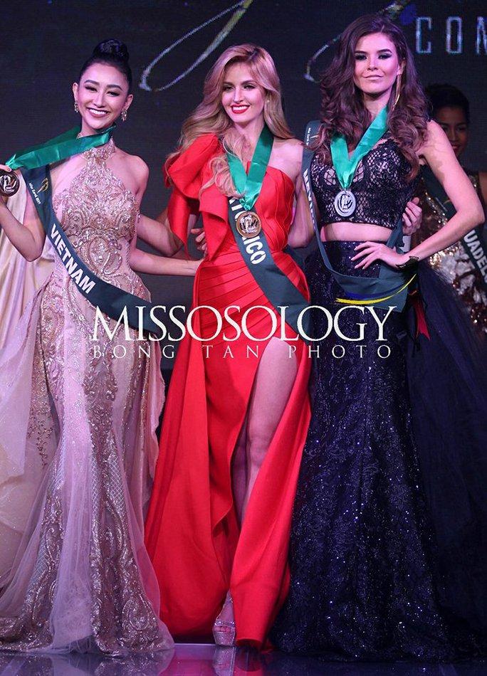 Hà Thu có thêm giải phụ tại đấu trường Hoa hậu Trái đất - Ảnh 1.