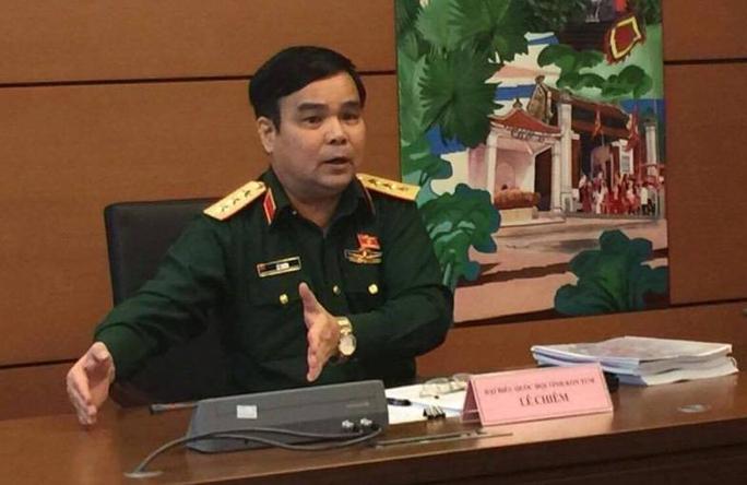 Thượng tướng Lê Chiêm: Cán bộ mua đất ở Long Thành rồi - Ảnh 1.