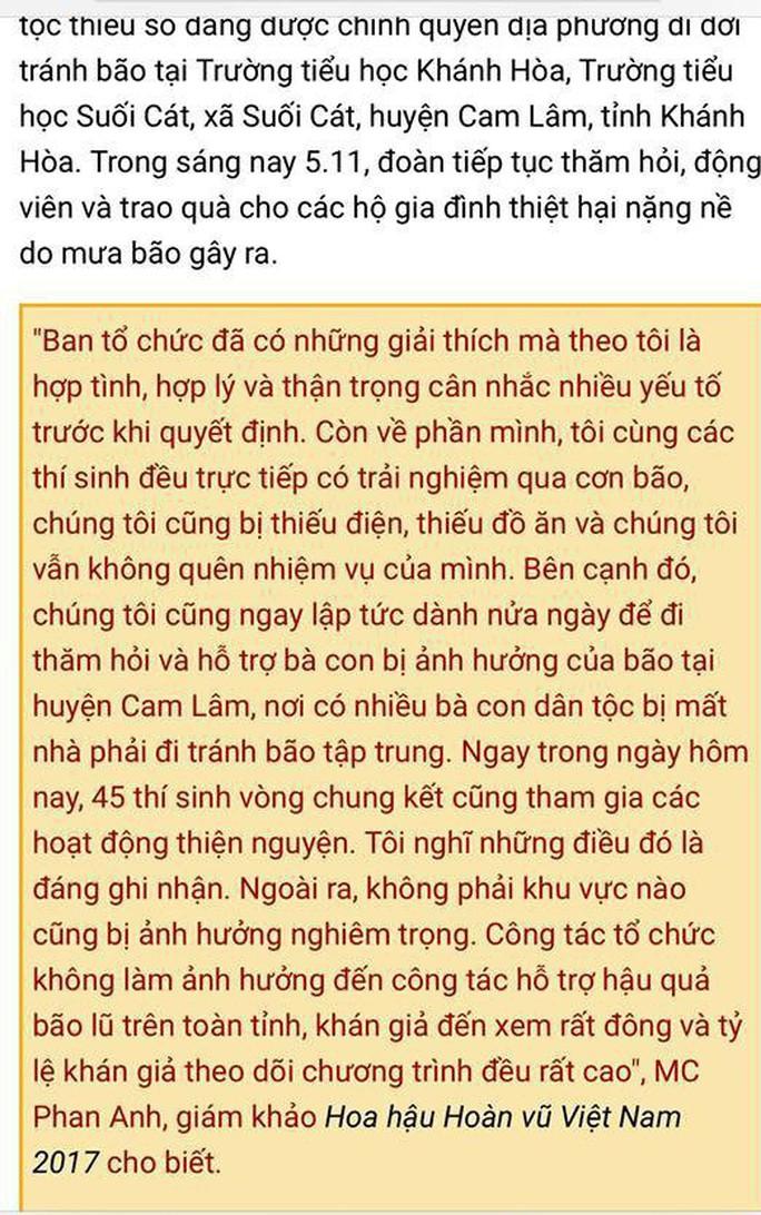 MC Phan Anh: Tôi xin lỗi ! - Ảnh 1.