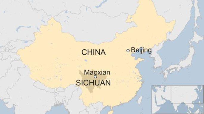 Lở đất dữ dội ở Trung Quốc - Ảnh 2.