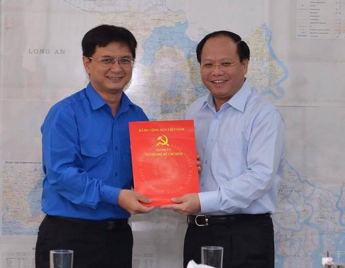 Bí thư Thành đoàn TP HCM làm Bí thư Quận ủy Thủ Đức - Ảnh 1.