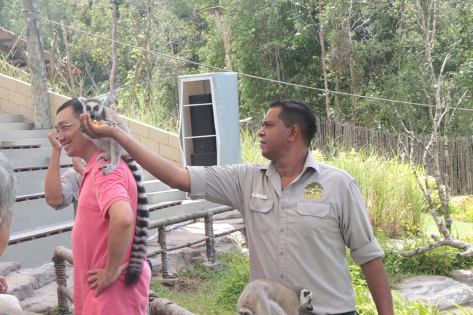 Mãn nhãn với màn biễu diễn thú ở Safari Phú Quốc - Ảnh 3.