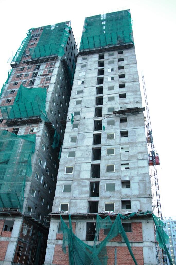 Công trình xây dựng nhà ở tái định cư nơi xảy ra vụ việc có quy mô khoảng 21 tầng