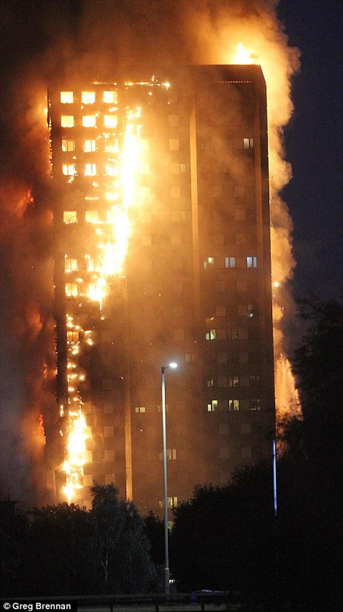 Đám cháy kinh hoàng nuốt chửng tòa nhà 27 tầng ở London - Ảnh 4.