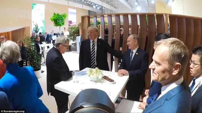 Tổng thống Mỹ - Nga lần đầu gặp nhau - Ảnh 4.