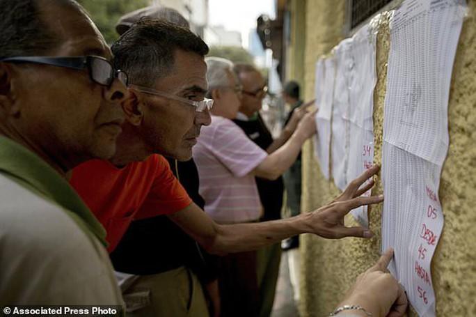 Tổng thống Venezuela: Các đảng đối lập biến khỏi bản đồ chính trị - Ảnh 3.