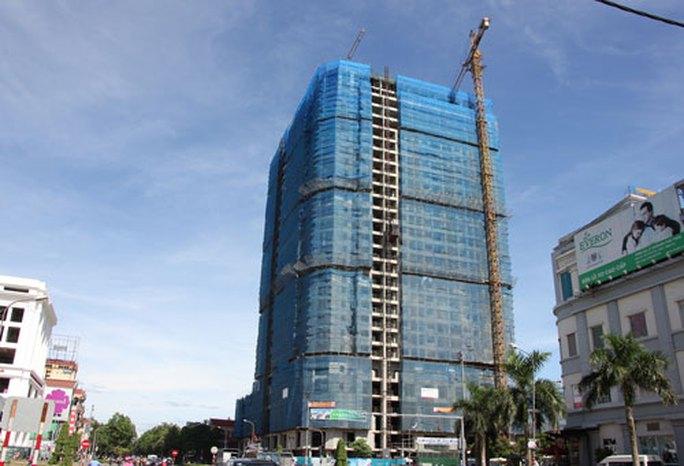 Dự án của Công ty CP Tập đoàn T&T xây dựng trái phép thêm 3 tầng tại TP Vinh
