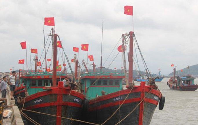 Cấm ra biển, di dời dân đối phó bão số 2 - Ảnh 1.