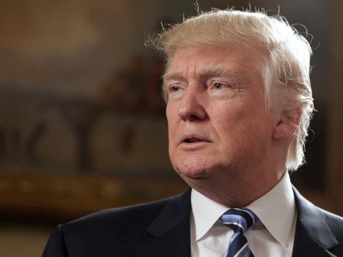 Tính khí của ông Trump đang gây không ít quan ngại. Ảnh: REUTERS