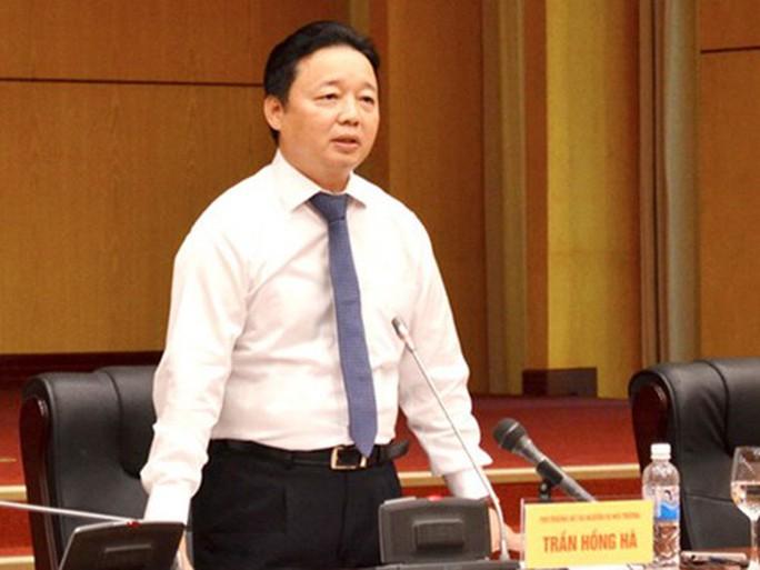 Bộ trưởng Trần Hồng Hà: Vụ nhận chìm không có nhà khoa học bị mạo danh - Ảnh 1.