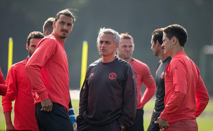 M.U đàm phán tái hợp với Ibrahimovic - Ảnh 1.