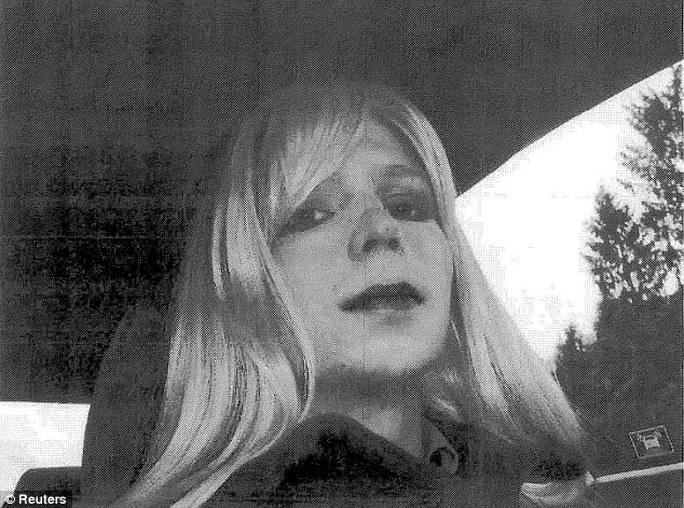 Cựu binh Chelsea Manning. Ảnh: REUTERS