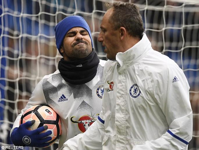 Costa đã không thuyết phục được đội ngũ y tế của Chelsea về chấn thương của mình